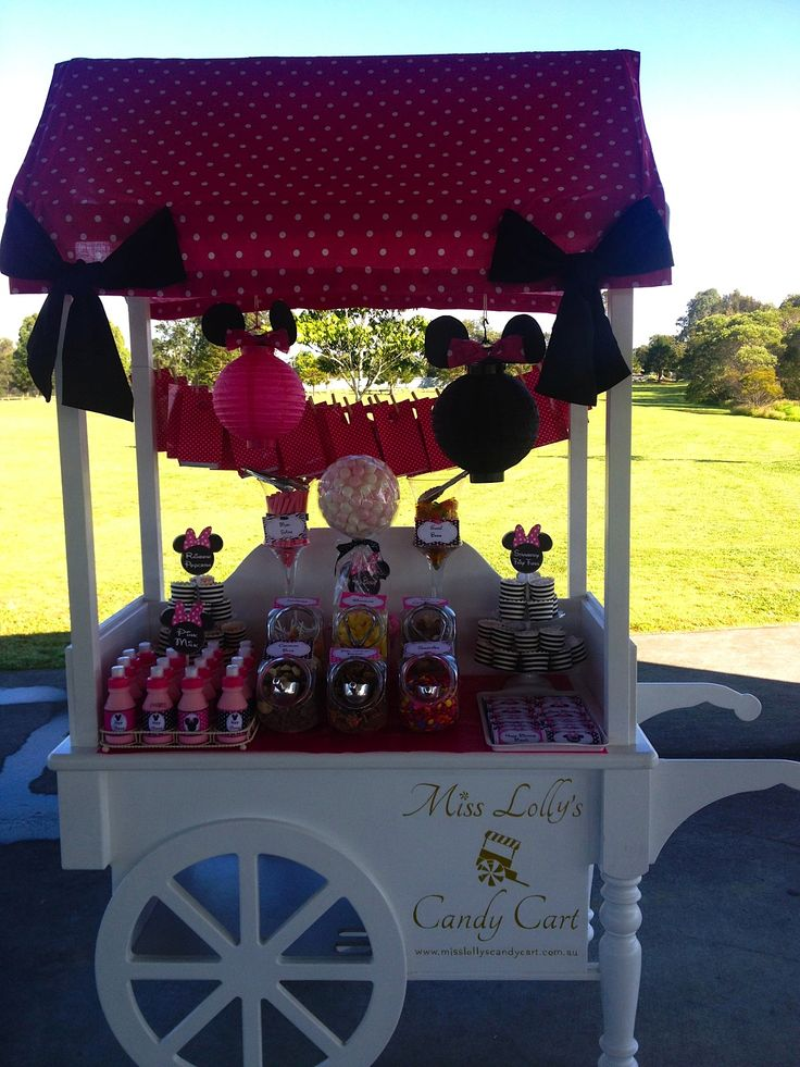 Themed candy cart