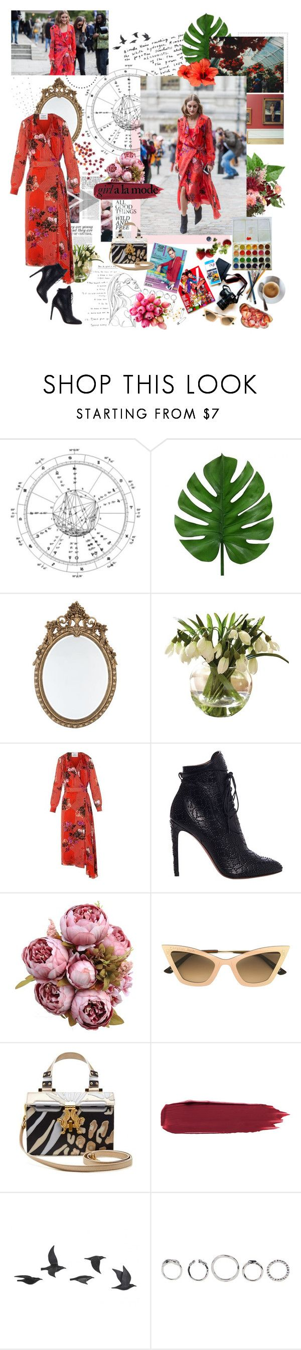 """""""i can slay my own dragon; i can dream my own dreams; my knight in shining armor is me."""" by youarebeautifulmydarling ❤ liked on Polyvore featuring Alaïa, KAROLINA, Christian Roth, Jayson Home, Hannah Marshall and Reception"""