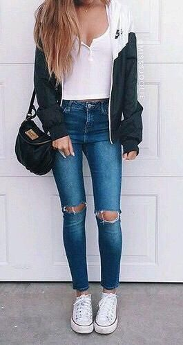 simple everyday #teen #streetstyle.
