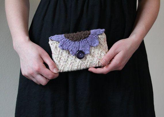 Garden Party Clutch, Lavender Blush