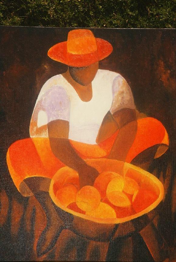 louis toffoli artist - Le mrchand d'oranges