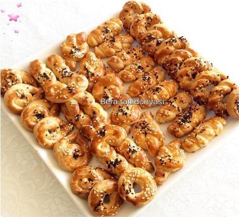 Pastanelerden aldığınız o meşhur tuzlu kurabiyeleri artık evinizde kolaylıkla yapabilirsiniz çok nefis bir kurabiye