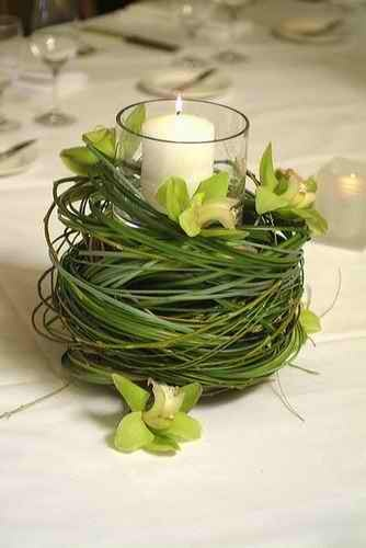 centerpiece..so simple and earthy
