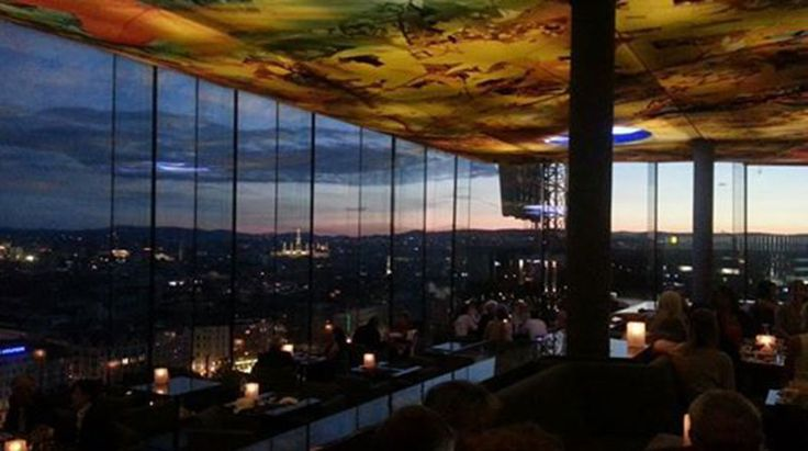 Beste Aussicht in Wien Sofitel Dachterasse