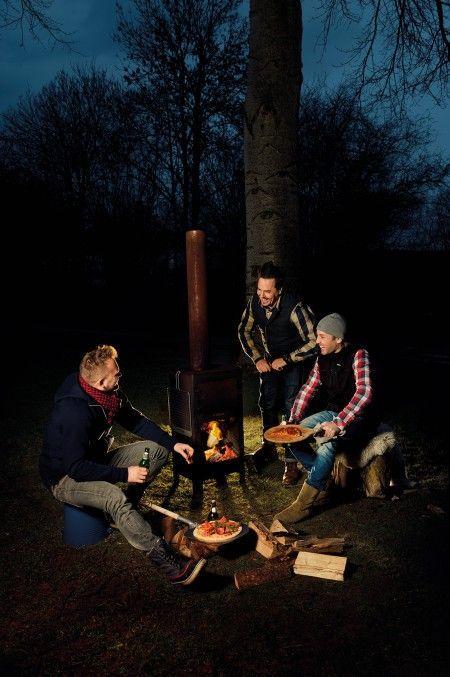 Het perfecte tuinfeestje - Wonen Voor Mannen - WVM - Outdoor Oven, BBQ, barbecue, buiten oven, tuinmeubels