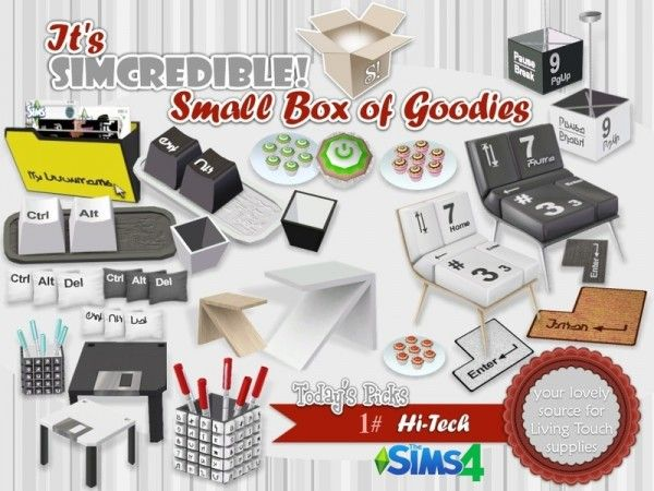 The Sims Resource: Hi-tech by SIMcredible • Sims 4 Downloads