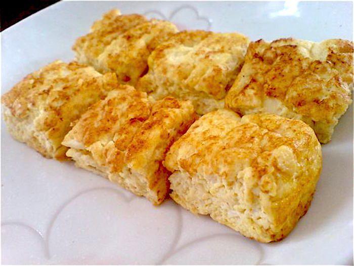 Cubetti di frittata di riso - Buonissimo