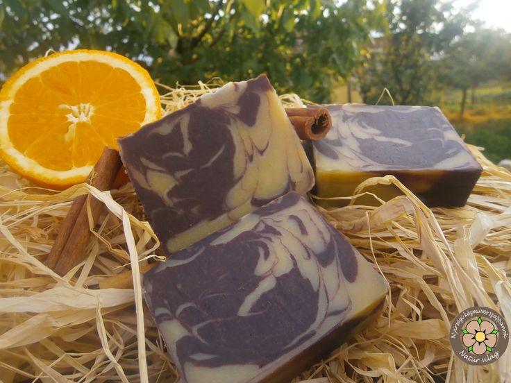 Diós-kakaós-narancsos-fahéjas különleges szappan - minden bőrtípusra