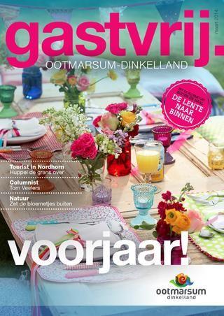 Voorjaar! Bezoek Ootmarsum-Dinkelland in de Lente. Inspirerende tuinwarenhuizen, beleef de mysterieuze Paasgebruiken en een kijkje over de grens.