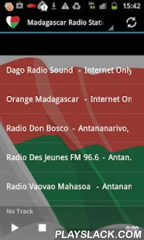 Madagascar Radio Music & News  Android App - playslack.com ,  Listen to top Madagascar Music and News with the best Free Internet Radio Stations. Easy to use app with instant Track Info and share function.Turns radio automatically off, when you receive a call!This is a FREE ad supported App, but without any annoying push ads! I recommend a fast internet connection for top app performance. Wifi, 4G, etc. I have tested the app and all stations are working without skipping. If you still find…