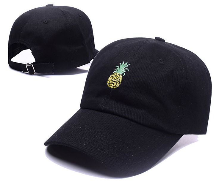 New Pineapple Embroidered Baseball Cap Hats for Adults Man Curved Bill Snapback Hats Hip Hop Dad Caps Summer Trucker Gorras