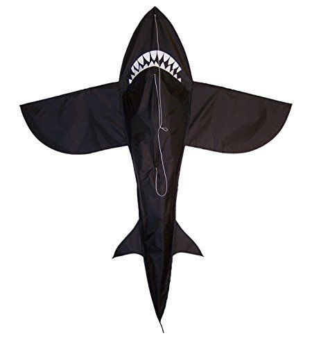 4-Feet-Shark-Parafoil-Kite-with-Handle-amp-String-Summer-Kite-special-easy-to-fly
