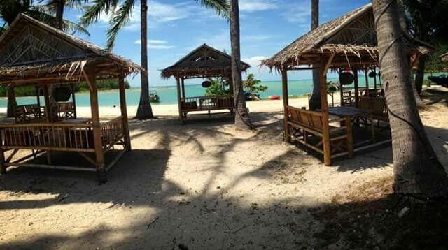 Busy time. Bamboo beachbar. Koh samui