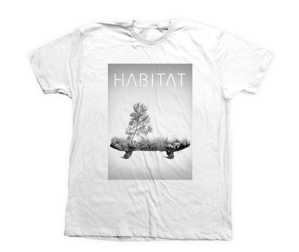 LIVING SKATEBOARD T-SHIRT WHITE