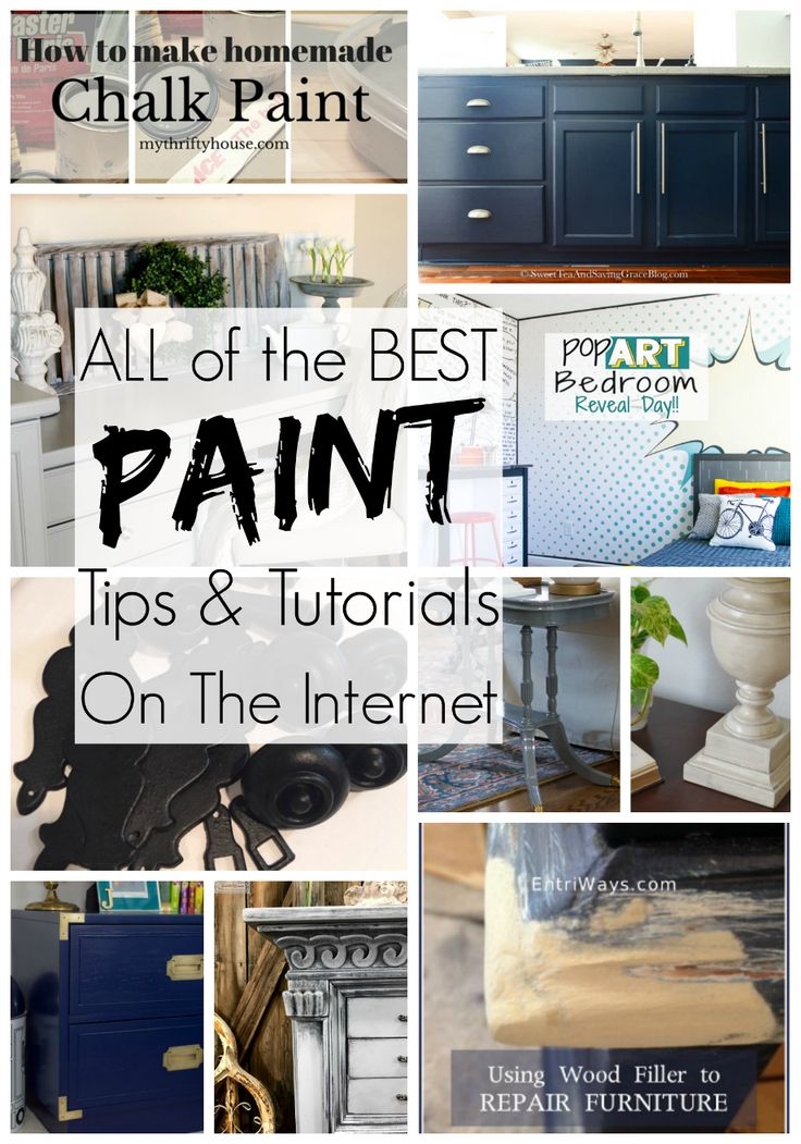 227 best creative hacks tips for the home images on pinterest homemaking furniture projects - Painting tips will make home come alive ...