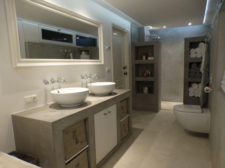 stucwerk badkamer - Google zoeken