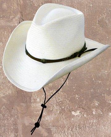 Corbeto's Boots | 50-BANDIT | Sombrero cowboy Stars & Stripes paja blanda unisex con ala moldeable | Stars & Stripes soft straw cowboy hat with shapeable brim.