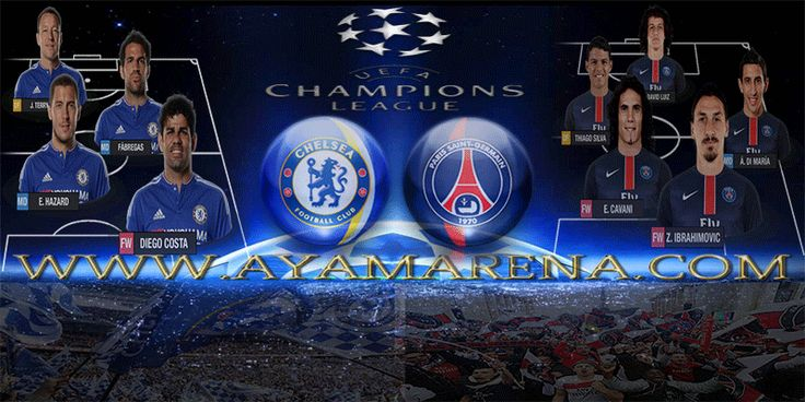 Dewibola88.com | Prediksi Pertandingan UEFA Champions League Chelsea vs PSG 10 Maret 2016 | Gmail : ag.dewibet@gmail.com YM : ag.dewibet@yahoo.com Line : dewibola88 BB : 2B261360 BB : 556FF927 Facebook : dewibola88 Path : dewibola88 Wechat : dewi_bet Instagram : dewibola88 Pinterest : dewibola88 Twitter : dewibola88 WhatsApp : dewibola88 Google+ : DEWIBET BBM Channel : C002DE376 Flickr : dewibola88 Tumblr : dewibola88