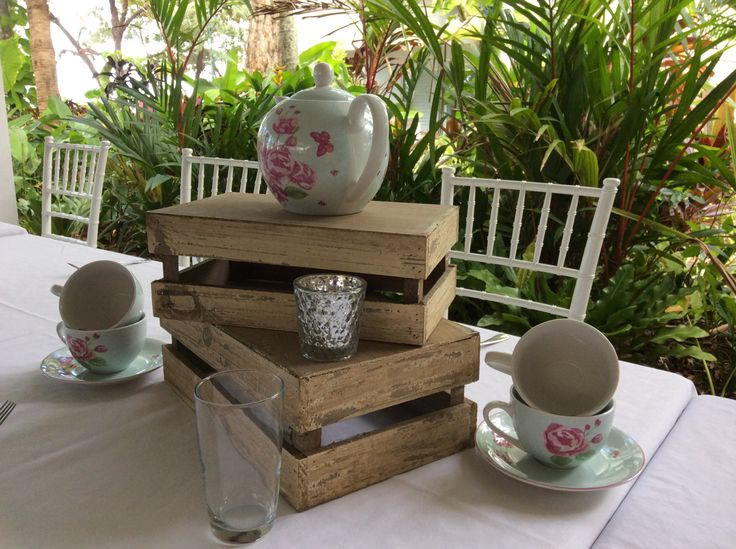 Vintage Centrepiece - High Tea