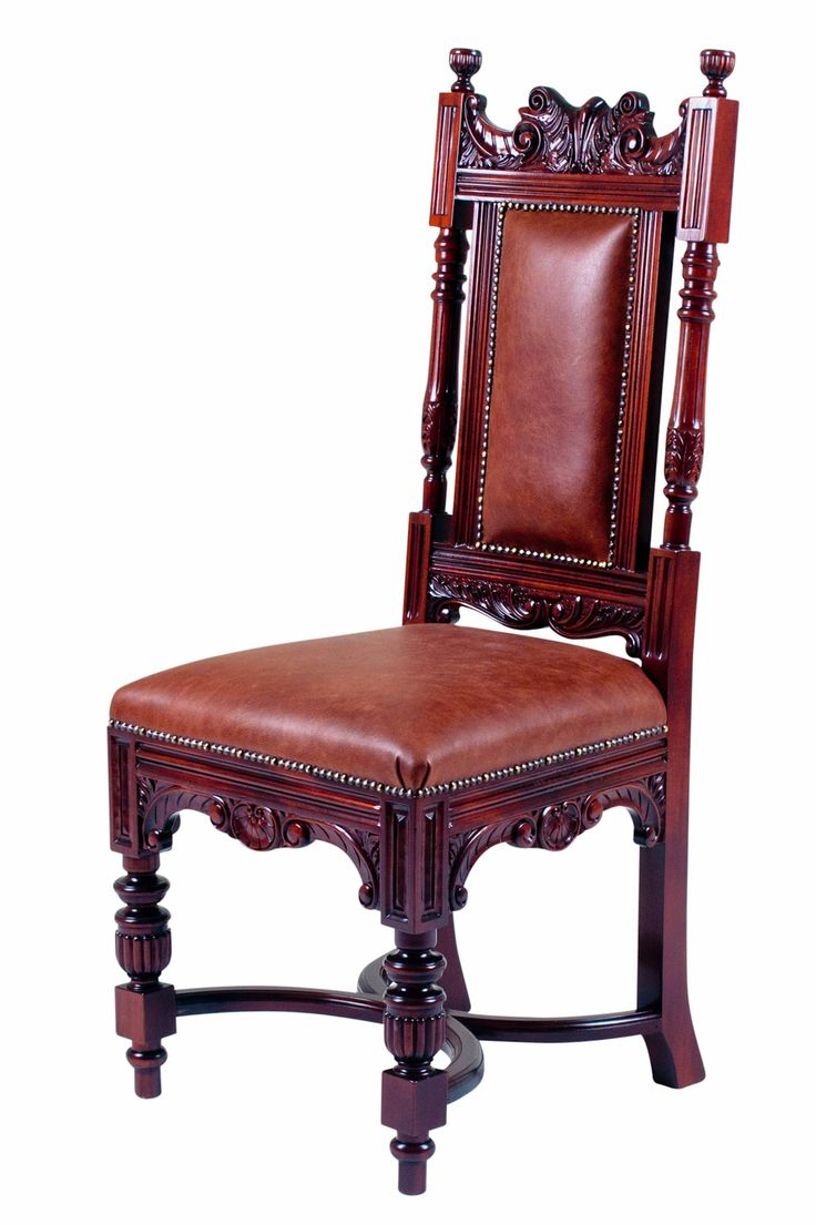 Edward Dining Chair An Upholstered Late Victorian Jacobean Style High Back With