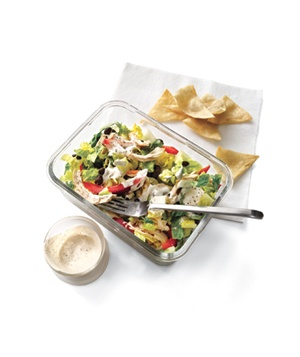 Southwestern Chicken Salad - Made this! and I absolutely loved the dressing the recipe calls for you to make with greek yogurt, lime juice and cayenne pepper. I have used it multiple times now.
