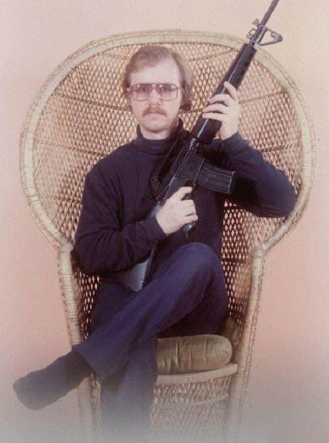 Sniper posing in his Polly Pocket-themed bedroom.