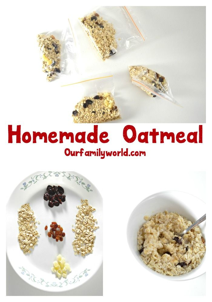 Save time and money by making this easy instant oatmeal recipe. It is a…