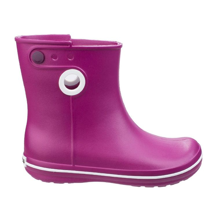 The Crocband wellington boots from Crocs™ are the must have waterproof  wellies for the new season, moulded with Croslite ultra lightweight  construction.