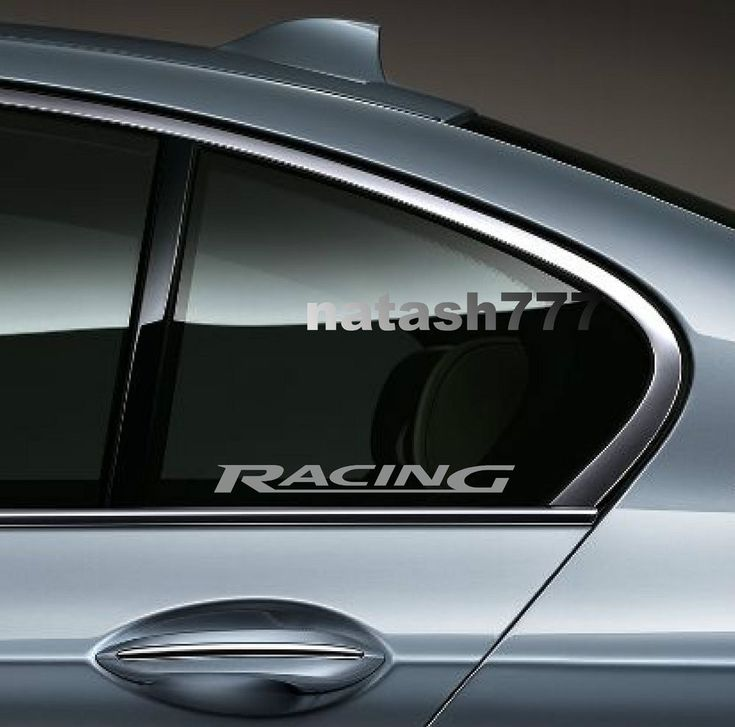 2 - RACING Audi QUATTRO S4 S5 S6 RS4 Q3 Window Decal sticker emblem logo SILVER #natash777