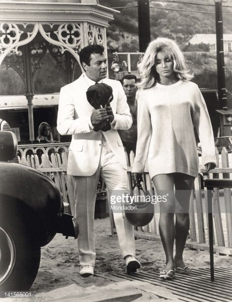 sharon tate in don't make waves | ... Curtis And Sharon Tate In A Scene Of 'Don'T Make Waves' : News Photo