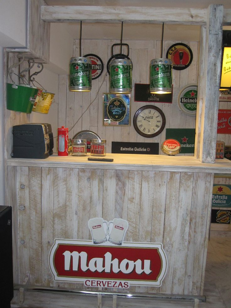 Barra de bar deco hogar pinterest pallets and bar - Barras de bar para casa ...