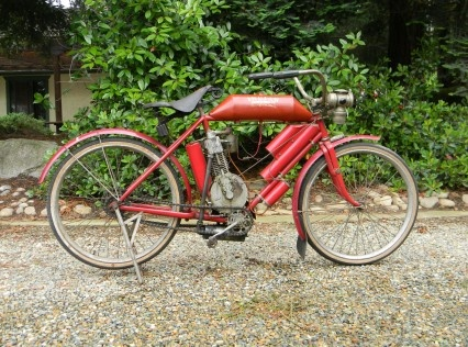 1907 Indian Motocycle original motocycle touring tank - Classic Motorcycles for Sale - Classic Motorcycle Consignments - 949-254-6551 California, USA