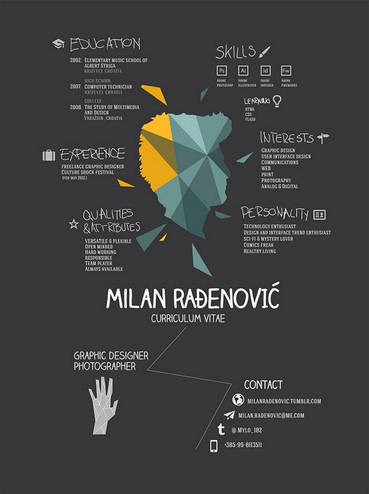 51 best Resume- Templates Design images on Pinterest Resume - freelance graphic design resume