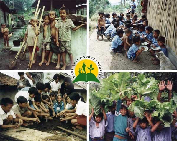 The East Bali Poverty Project (EBPP) is a non-profit organisation established in 1998 by a British resident of Bali after an appeal for help by an isolated 7,200Ha mountain village, forgotten by time and progress.