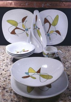 1950\u0027s retro dinnerware & 7 best 1950s dinnerware images on Pinterest | 1950s Cutlery and ...