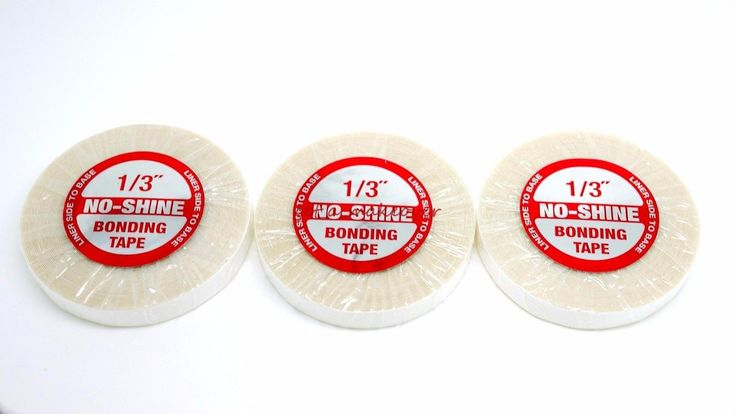 """3 Walker No Shine 1/3"""" X 6 Yard Roll Tape Weft Wig Toupee Hair Extensions"""