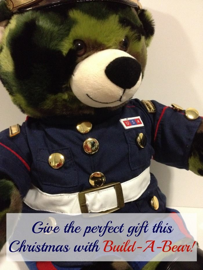 Build-A-Bear is more than just toys for children...this Marine Bear is the perfect gift for my grandfather-in-law who is a Marine Veteran!