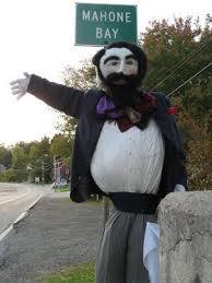 Mahone Bay scarecrow