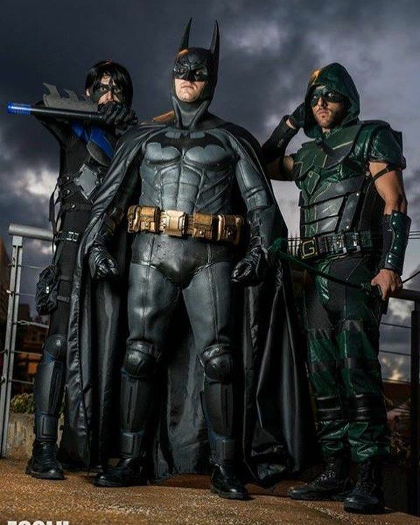J U S T I C E Nightwing Mario Baez Arrow Danymedinaramos Photo