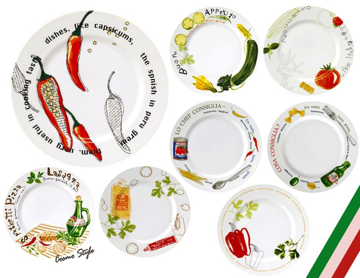 パスタ好きの方、必見!☆! 【イタリアン パスタプレート】8種類、カラフルでお洒落ですよ♪!  http://search.rakuten.co.jp/search/inshop-mall/spago/-/sid.272474-st.A  イタリアの食材をカラフルに描いた、見ているだけでもとっても楽しい、食卓も明るく美味しく盛り上げてくれる、とても人気のシリーズのお皿です♪  お手頃価格ですよ☆彡  華やかなパーティーなどにもお勧めです☆  ブランドは、岐阜県多治見市でプロ仕様の食器(ホテル・レストラ・カフェ)などのテーブルウェアを手掛ける【studio010】(スタジオ マルトー)!  ご家庭でも是非どうぞ♪    **~ANNON(アンノン)~** 食器の専門店♪(大阪・なんば) 新規オープンなどのお皿仕入れなどお気軽にご相談ください♪  LINE公式アカウントのID:【ANNON】で検索してね! LINEからも素敵な食器の情報を発信していますよ☆  Bar tools & Wine goods専門店。