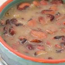 Florida Butter Bean (or Lima Bean) Soup with Ham and Cabbage Recipe