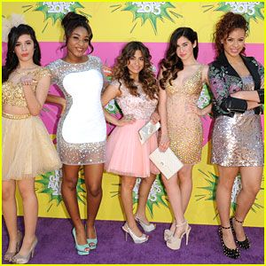 Fifth Harmony - Kids Choice Awards 2013 Red Carpet--Camilla and Lauren in @LuichinyShoes(heels)!!!