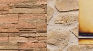 Noma®stone - Pannelli per rivestimenti murali interni ed esterni in pietra sintetica.