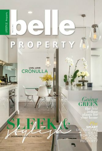 New Belle Property Issue 14, 2015. Front cover property is a luxurious home, overlooking a view of the river. 58 Homer Street, Earlwood NSW listed through Belle Property Newtown.