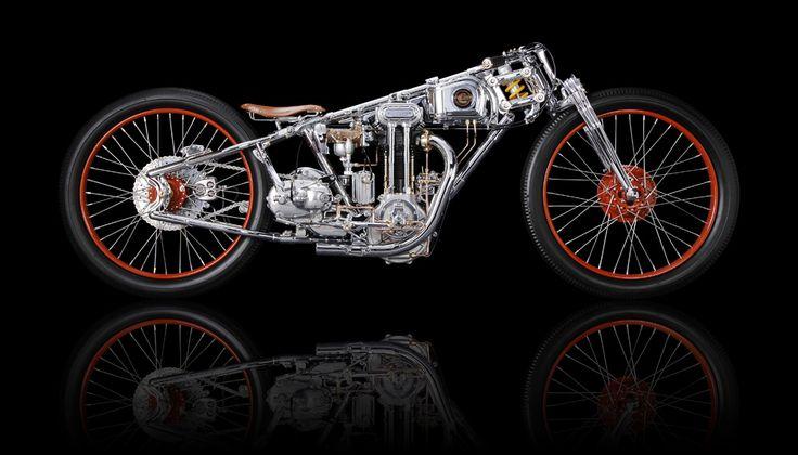 Motorcycle by Chicara Nagata