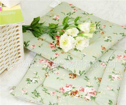 2015 armürlü 43x43 çiçek/yeşil/çiçek baskılı tuval ev/ofis/kanepe/araç/plaj dekor yastık örtüsü/atış yastık kılıfı/yastık(China (Mainland))