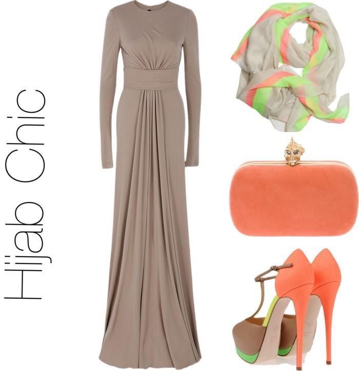 #Hijab Long dress.