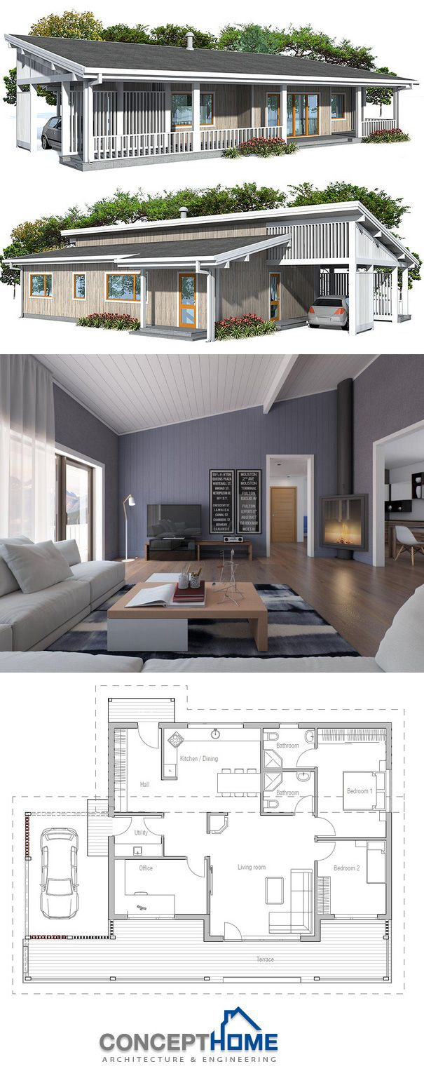 59 best images about house plans on pinterest for House plans with clerestory windows