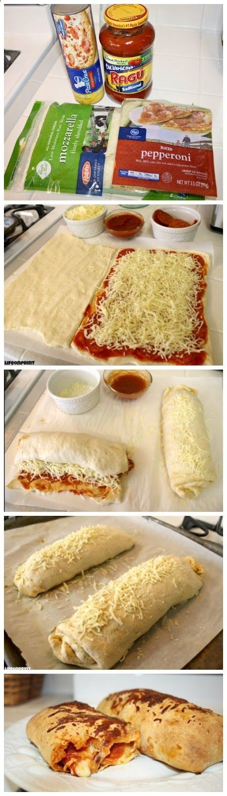 Easy Pizza Roll-Ups
