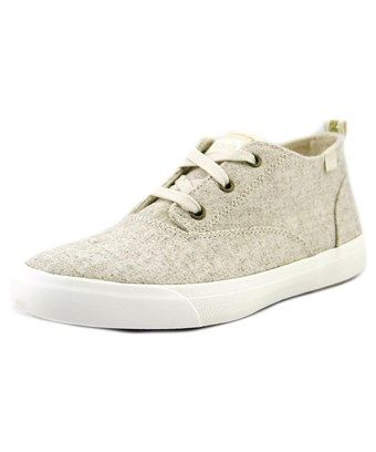 Keds Triumph Mid Round Toe Canvas Sneakers, White